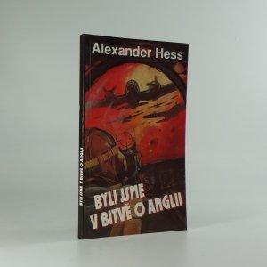 náhled knihy - Byli jsme v bitvě o Anglii