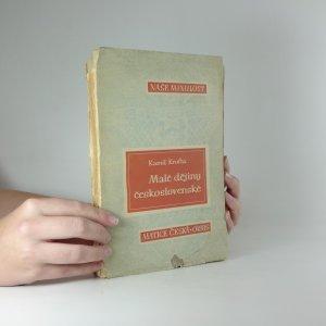 náhled knihy - Malé dějiny československé