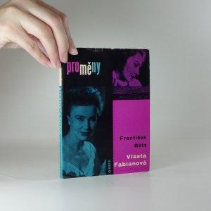 náhled knihy - Vlasta Fabiánová - Monografie