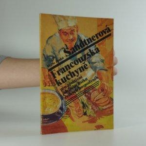 náhled knihy - Francouzská kuchyně pro zpestření jídelního lístku českých hospodyněk