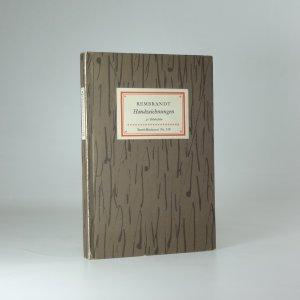 náhled knihy - Rembrandt Handzeichnungen