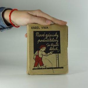náhled knihy - Nové zápisky podučitelovy (Po třiceti letech)