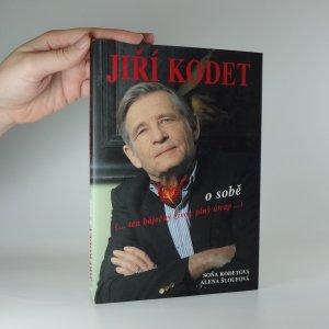 náhled knihy - Jiří Kodet o sobě