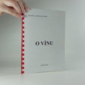 náhled knihy - O vínu