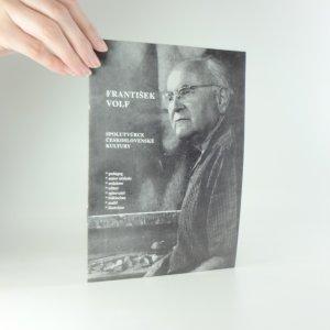 náhled knihy - František Volf- spolutvůrce československé kultury