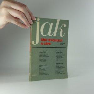 náhled knihy - Jak číst rychleji a lépe