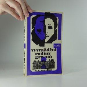 náhled knihy - Vyvraždění rodiny Greenů : příběh Phila Vance