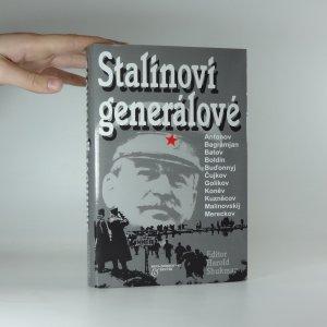 náhled knihy - Stalinovi generálové