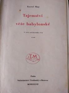 antikvární kniha Im Reiche des silbernen Löwen. Česky V říši stříbrného lva. Tajemství věže babylonské, 1937
