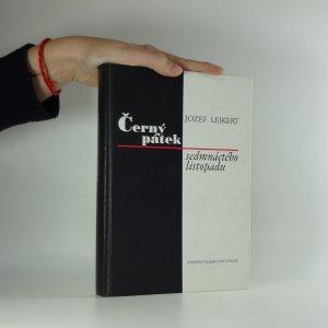 náhled knihy - Černý pátek sedmnáctého listopadu