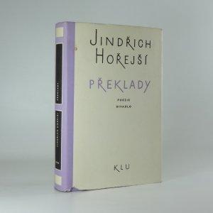 náhled knihy - Překlady: Poezie, divadlo