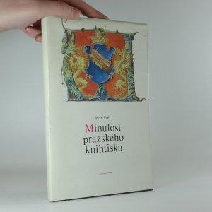 náhled knihy - Minulost pražského knihtisku