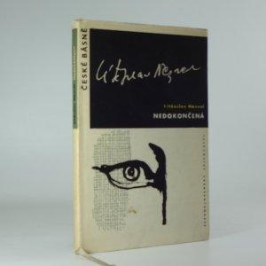 náhled knihy - Nedokončená : básně z pozůstalosti z let 1956-1958
