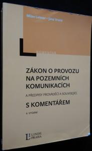 náhled knihy - Zákon o provozu na pozemních komunikacích a předpisy prováděcí a související s komentářem