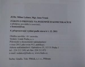 antikvární kniha Zákon o provozu na pozemních komunikacích a předpisy prováděcí a související s komentářem, 2012