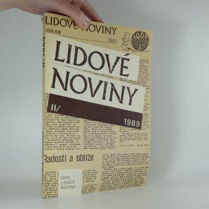 náhled knihy - Lidové noviny 1989 II.