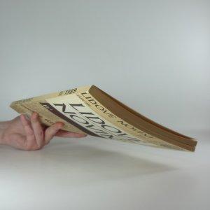 antikvární kniha Lidové noviny 1989 II., 1990