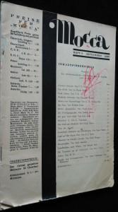 náhled knihy - Mocca - heft 9 - september 1936