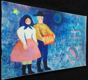 náhled knihy - Slovenské ľudové piesne pre akordeón