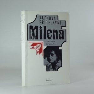 náhled knihy - Kafkova přítelkyně Milena