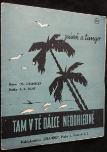 náhled knihy - Tam v té dálce nedohledné námořnická píseň a tango