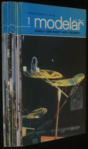 náhled knihy - modelář letadla - lodě - rakety - auta - železnice, r. 39. (č. 1. - 12.)