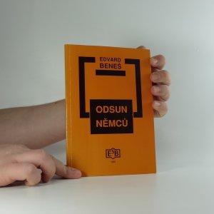 náhled knihy - Odsun Němců : výbor z Pamětí a projevů doplněný edičními přílohami