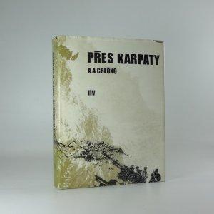 náhled knihy - Přes Karpaty