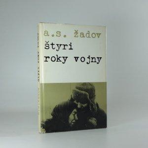 náhled knihy - Štyri roky vojny