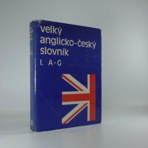náhled knihy - Velký anglicko-český slovník A-G
