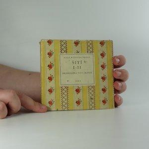náhled knihy - Šití. I - II