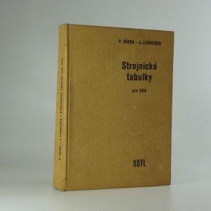 náhled knihy - Strojnické tabulky pro střední odborná učiliště