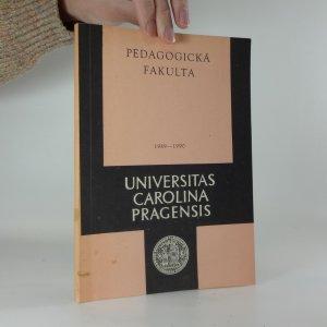 náhled knihy - Universitas Carolina Pragensis: Seznam přednášek na pedagogické fakultě ve studijním roce 1989 - 1990
