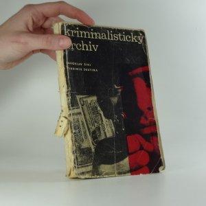náhled knihy - Kriminalistický archív