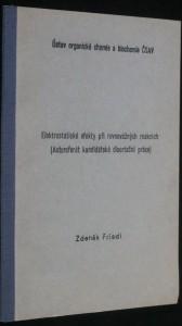 náhled knihy - Elektronické efekty při rovnovážných reakcích (Autoportrét kandidátské disertační práce)