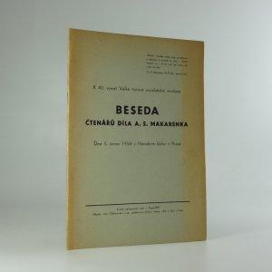 náhled knihy - Beseda čtenářů díla A. S. Makarenka