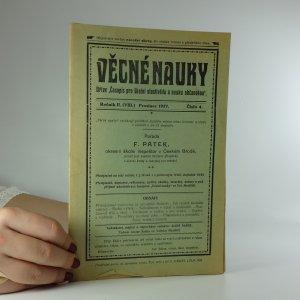 náhled knihy - Věcné nauky. Ročník II. Prosinec 1927. Číslo 4.
