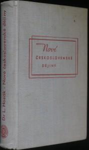 náhled knihy - Nové československé dějiny