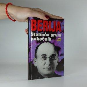 náhled knihy - Berija - Stalinův první pobočník