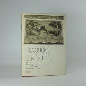 náhled knihy - Historické pověsti lidu českého