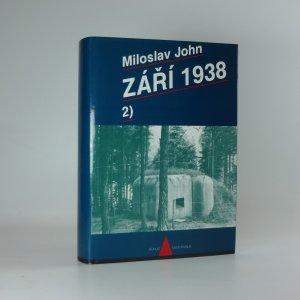 náhled knihy - Září 1938. Díl II.
