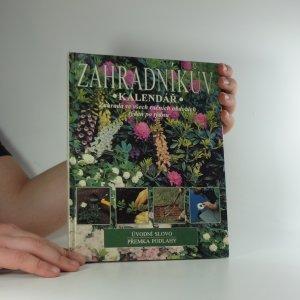 náhled knihy - Zahradníkův kalendář