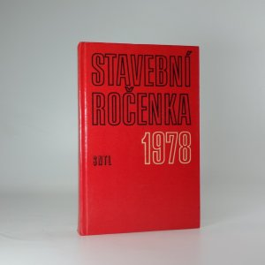 náhled knihy - Stavební ročenka 1978
