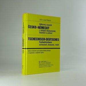 náhled knihy - Odborný slovník ČESKO-NĚMECKÝ z oblasti ekonomické, finanční a právní
