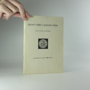 náhled knihy - Druhý výběr z lidových písní