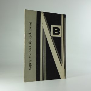 náhled knihy - Dopisy z Františkových Lázní