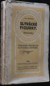 náhled knihy - Slovácké figurky : humoresky