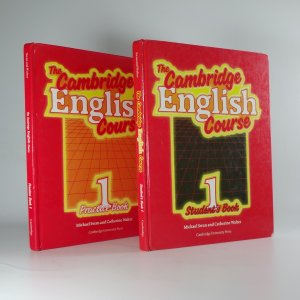 náhled knihy - The Cambridge English course 1, Practice Book, Student's Book