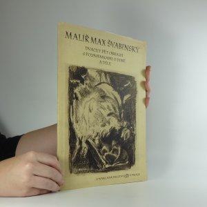 náhled knihy - Malíř Max Švabinský : dvacet pět obrazů s poznámkami o době a díle