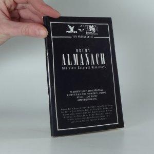 náhled knihy - Druhý Almanach Burianovy Kulturní Ozdravovny